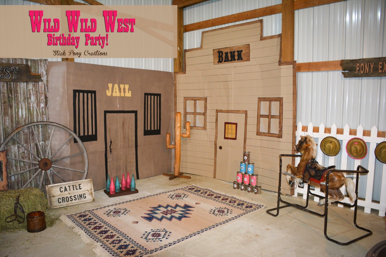 Stick Pony Creations: Wild Wild West Party - Our Cowgirl's 1st Birthday!