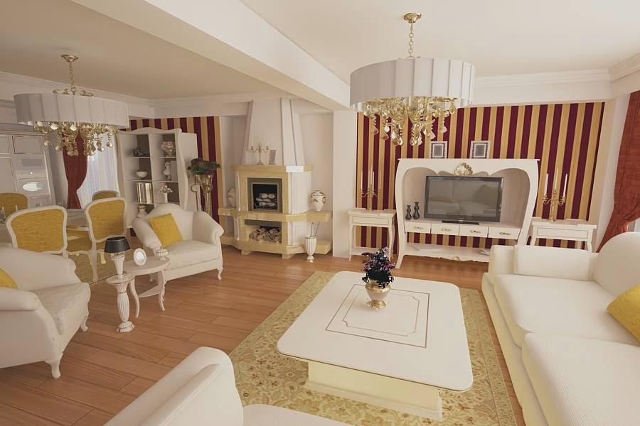 Amenajari interioare in Constanta - Amenajari interioare vile clasice