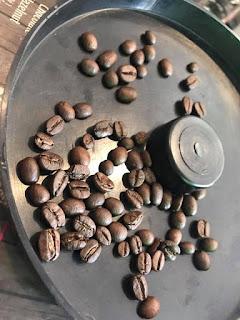 Hạt cà phê rang xay