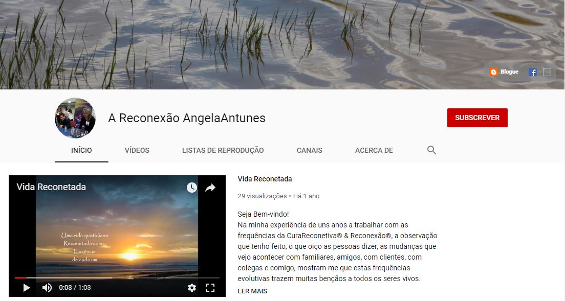 Subscreva o Canal no Youtube