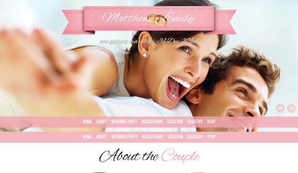 take-the-plunge-parallax-responsive-wedding