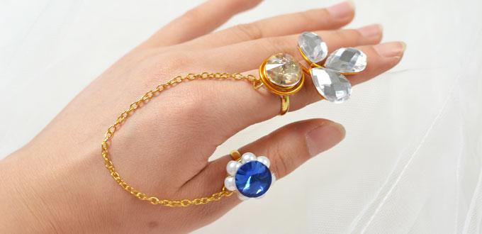 Perles accesoires pandahall tuto comment faire une bague sp ciale - Comment faire une bague ...
