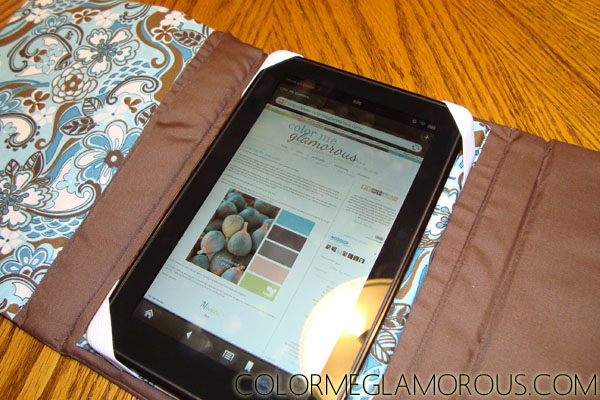 DIY Fabric Kindle Fire Case - Free Tutorial | The TygerLily
