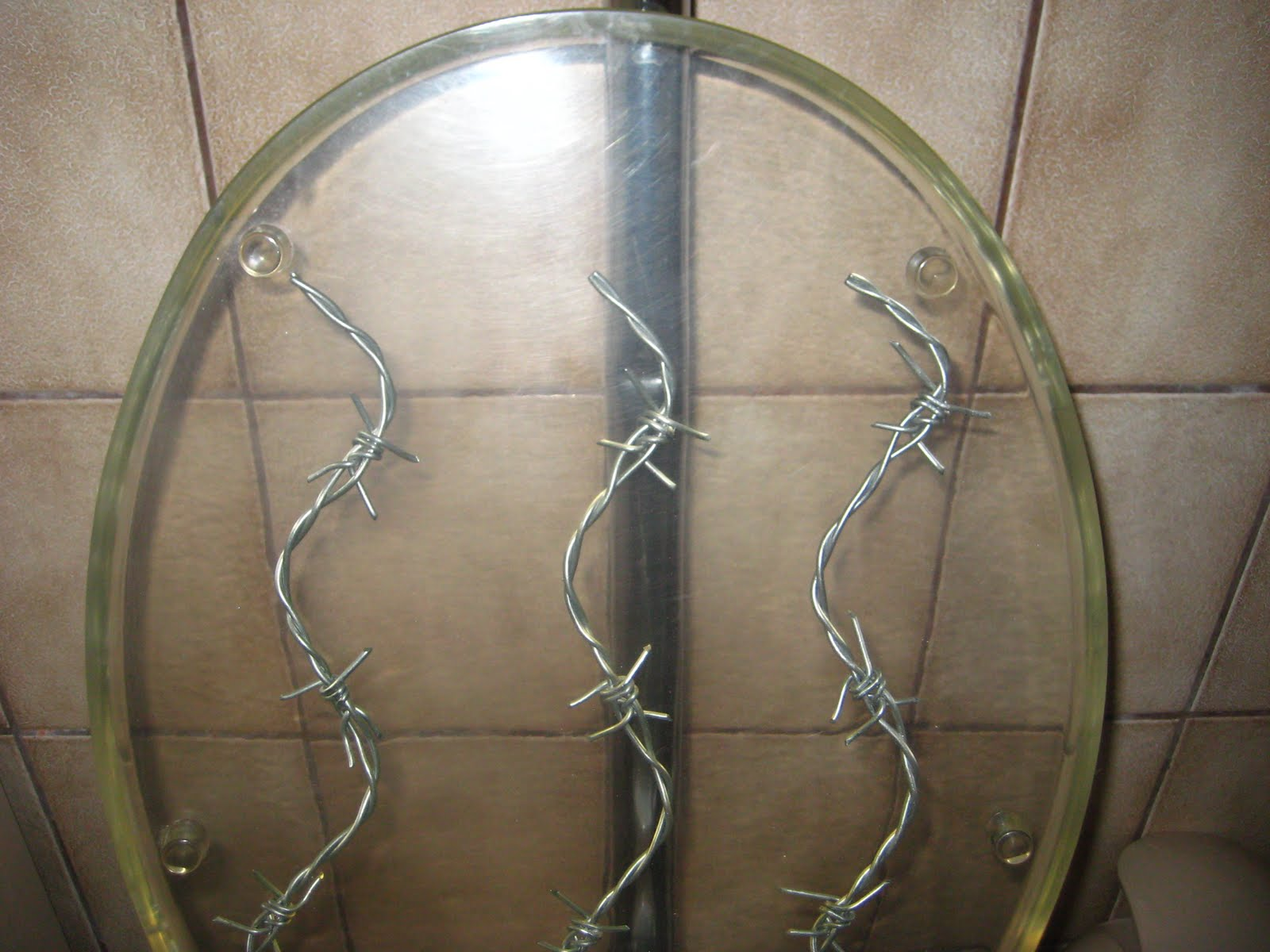 Magnificent Das Blog A Tribute To Our Barbed Wire Toilet Seat Creativecarmelina Interior Chair Design Creativecarmelinacom