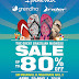SALE Alert : Enjoy Up to 80% off at the Great Brazilian Madness Sale at SM Megamall