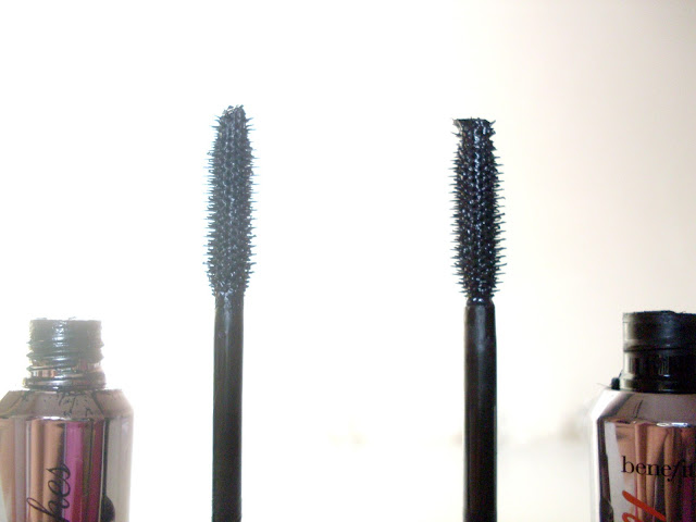 Benefit They're Real Mascara VS W7 Absolute Lashes Mascara