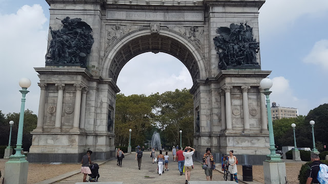 Arco, Grand Army Plaza, Brooklyn, Nueva York, Elisa N, Blog de Viajes, Lifestyle, Travel