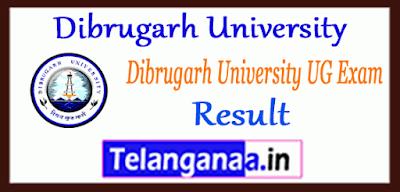 Dibrugarh University UG Result