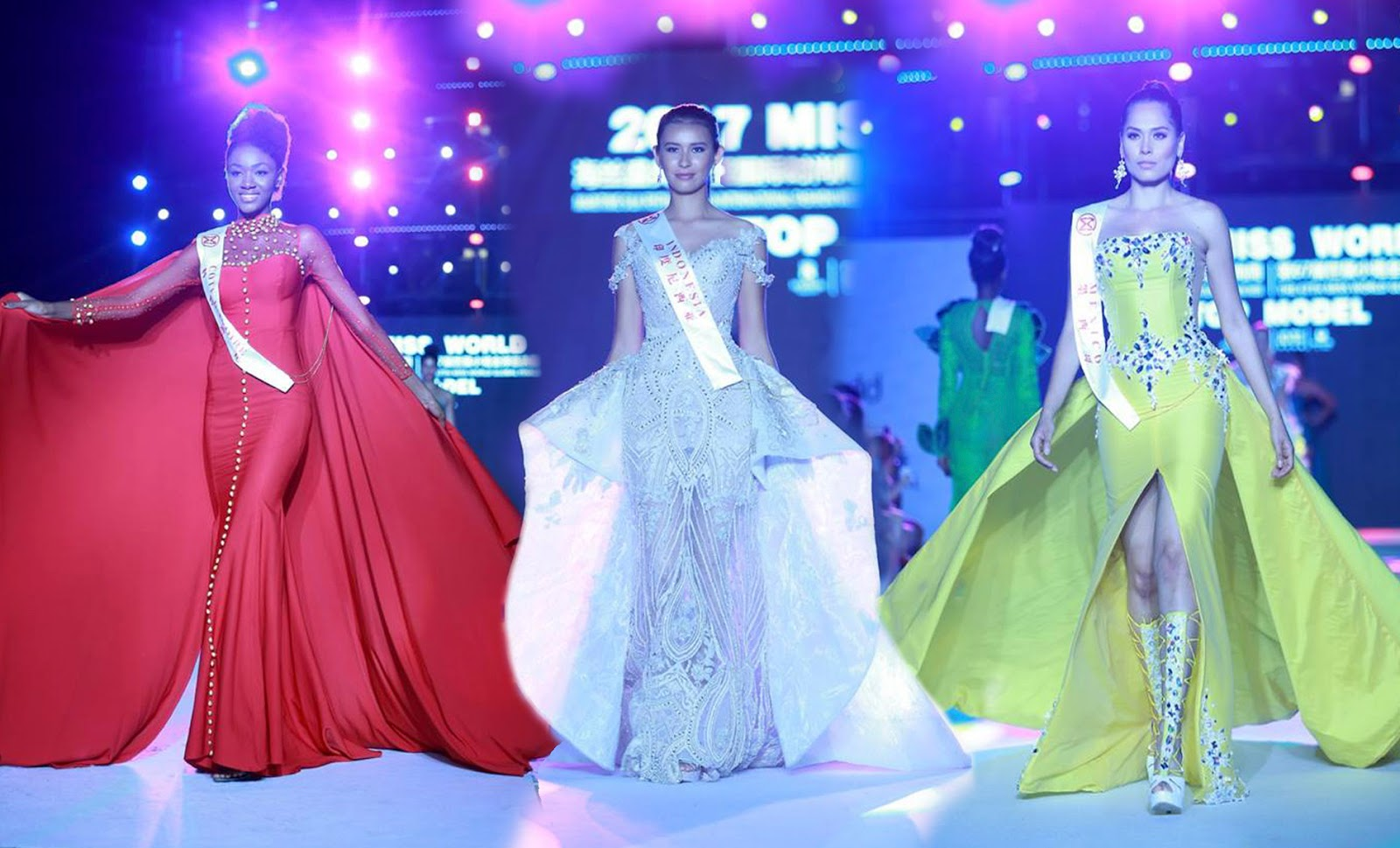 Nick Verreos Sashes And Tiaras Miss World 2017 World Designer Fashion Show My Top 15 Gowns