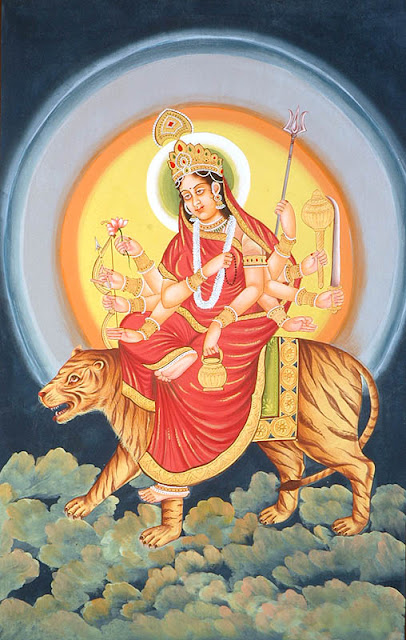 What is the meaning of Chandraghanta