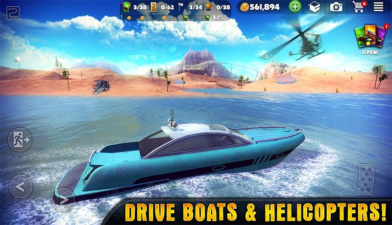 Off the road أفضل لعبة قيادة السيارات في عالم مفتوح للاندرويد