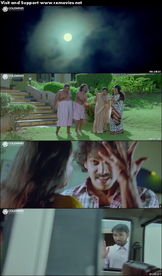 Bhagmati 2017 Hindi Dubbed 720p HDRip