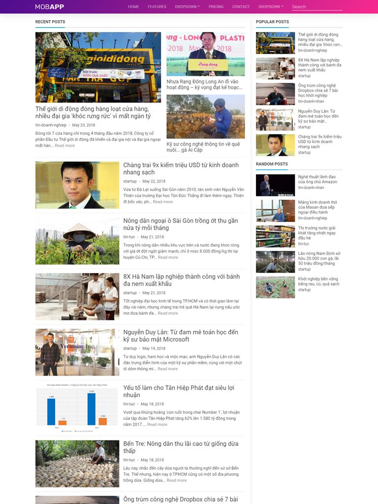 Landing Page giới thiệu ứng dụng điện thoại - Ảnh 2