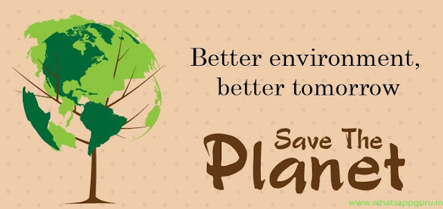 world environment day slogans in English