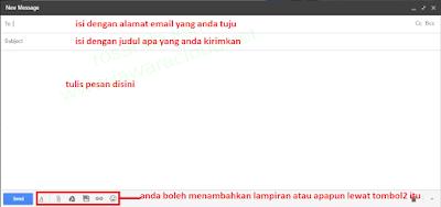 mengirim pesan di email google gmail