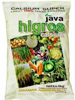 Pupuk Formula High Calsium Java Higros Calsium