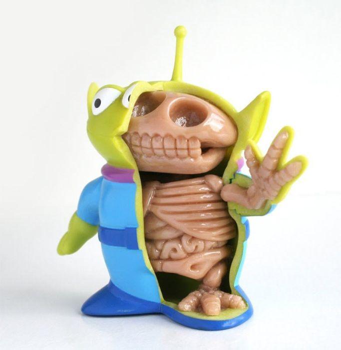 Fresh Pics: Anatomy Toys by Jason Freeny