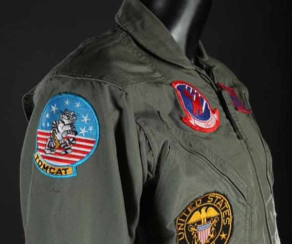 Maverick Top Gun flight suit detail