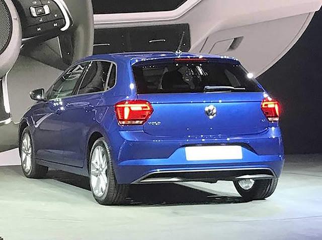 Novo VW Polo 2018 - traseira