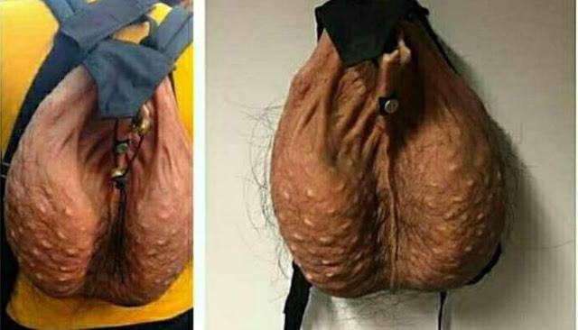 tas berbentuk buah zakar