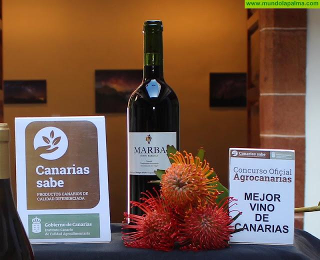 Marba Tinto Barrica, de la DO Tacoronte-Acentejo, mejor vino de Canarias 2018