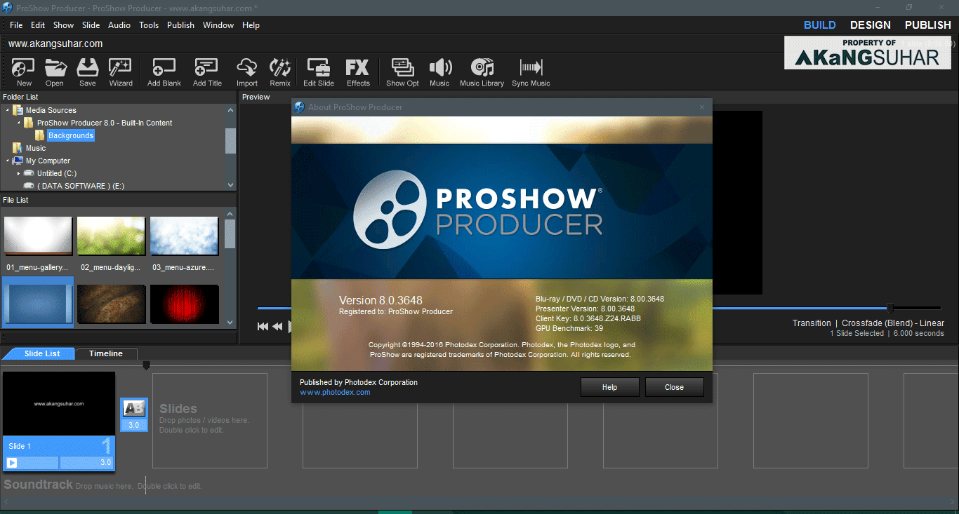 Download Photodex ProShow Producer 8.0.3648 Full Version