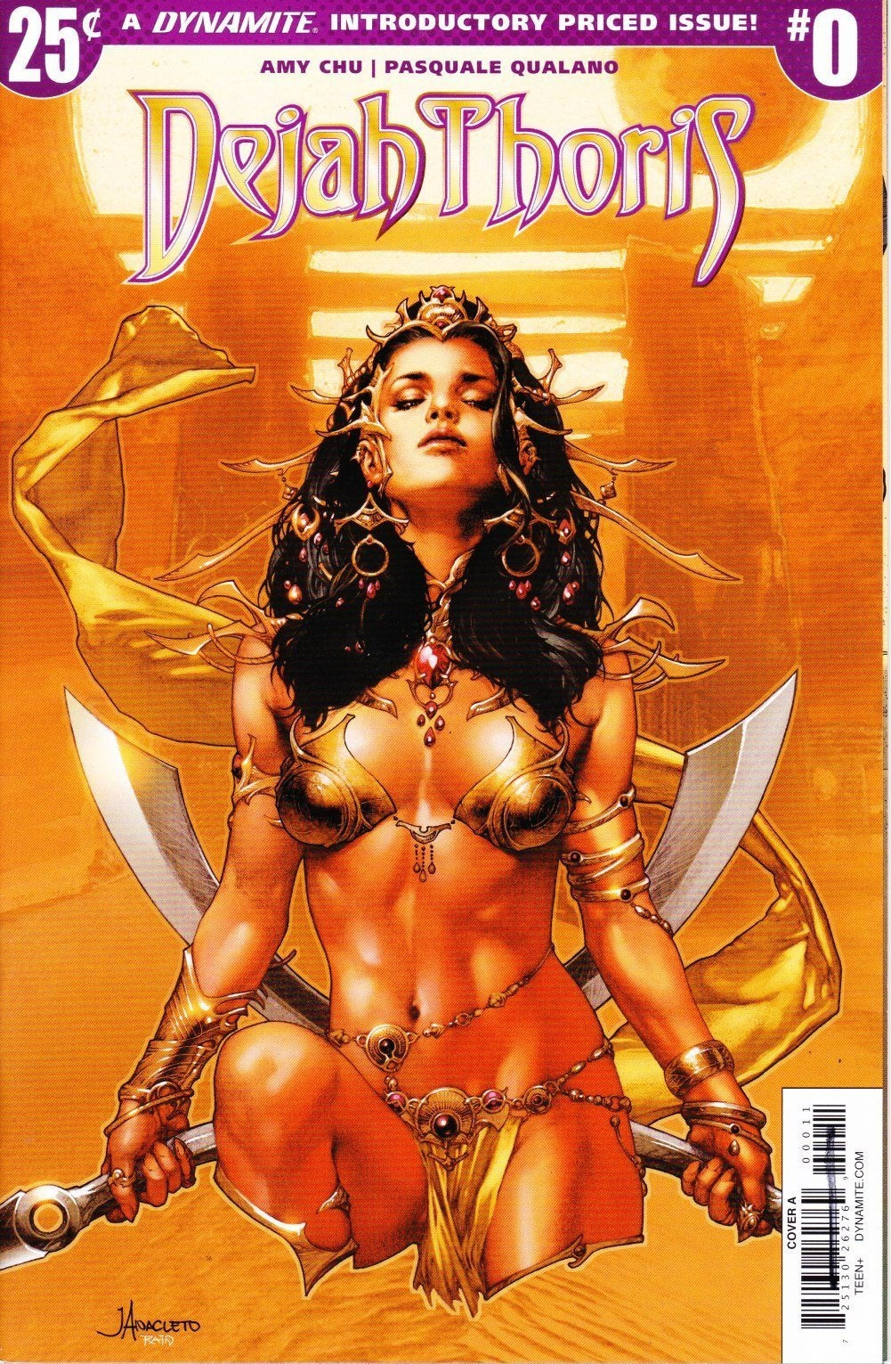 Dejah Thoris #0 Cover A January 2018 Dynamite Entertainment Grade VF/NM