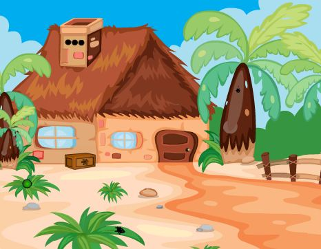 Play ZoozooGames Tribal House …
