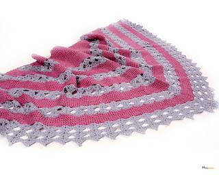 châle-texturé-crochet