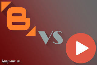 Kenapa Aku Harus Berbeda - Blogger vs Youtube