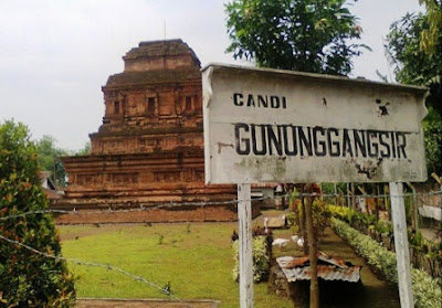 Wisata Candi Gunung Gangsir Pasuruan