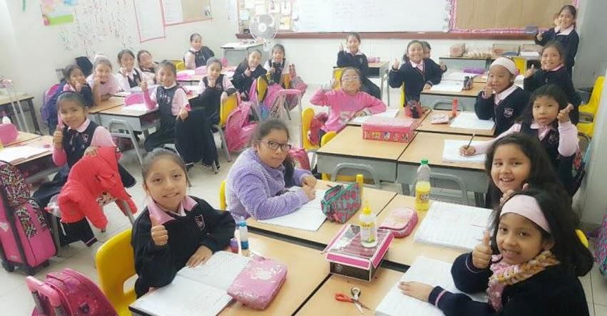 MINEDU: Desde mañana y hasta enero se realizará clausura del año escolar en colegios públicos, Informó Ministerio de Educación - www.minedu.gob.pe