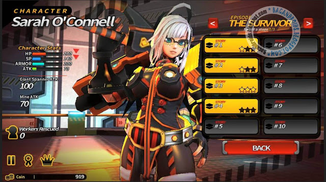 Game Smashing The Battle Apk Mega MOD v1.02 New Version Android Unlimited Money SP HP Coin