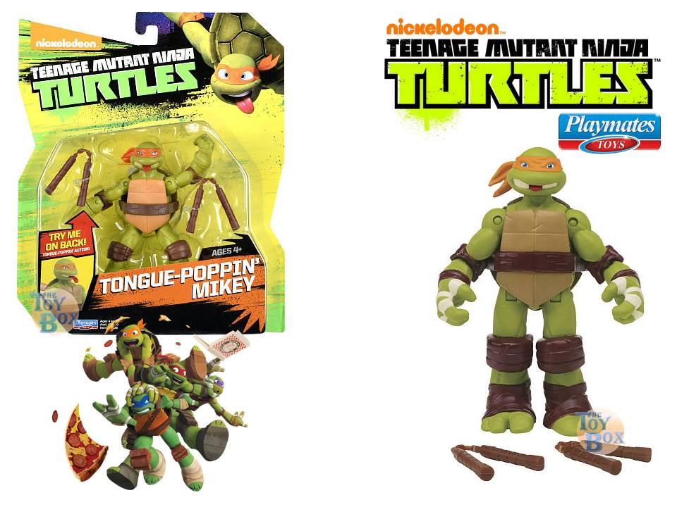 TEENAGE MUTANT NINJA TURTLES EYE-Poppin Leonardo Nickelodeon TMNT Mint on Card