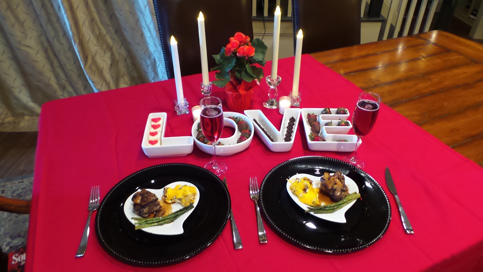 Romantic valentines meals at home - Dream Home Cooking Girl