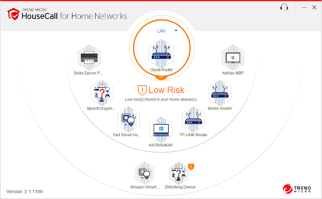Supratim Sanyal's Blog: Supratim Sanyal's Blog: Trend Micro HouseCall for home networks - 2nd subnet