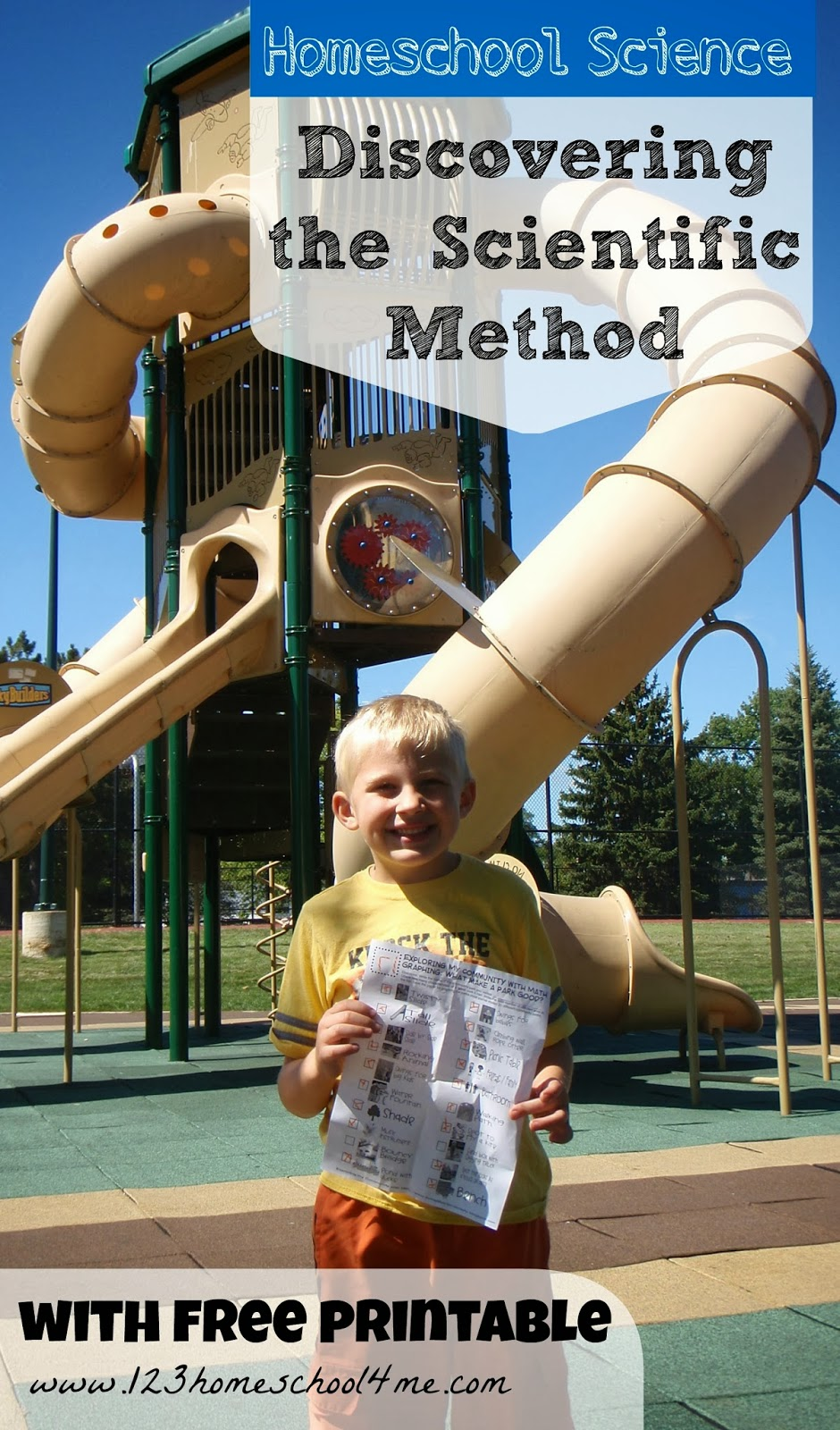 Discovering the Scientific Method in the Park (with free printable) #homeschool #education #preschool #scienceisfun