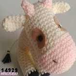 patron gratis vaca amigurumi, free pattern amigurumi cow
