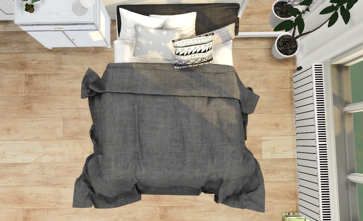My Sims 4 Blog: Bed, Blanket, Pillows and Decorative ...