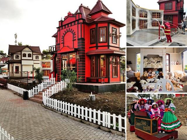 Kota Mini, Wisata Favorit di Floating Market Lembang