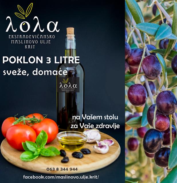 Ekstra devicansko maslinovo ulje, LOLA Srbija