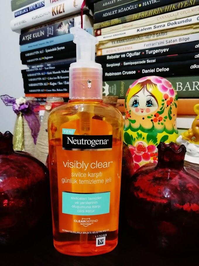 Neutrogena  Visibly Clear  // Sivilce Karşıtı Günlük  Temizleme Jeli
