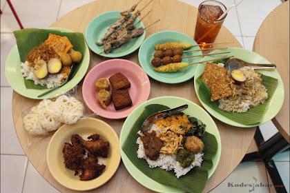 Warung Sego Nusantara, Kuliner Khas Indonesia Paling Murah di Bandung