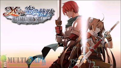 Game YS vs Sora No Kiseki Alternative Saga ISO CSO High Compress English With PPSSPP Emulator Android