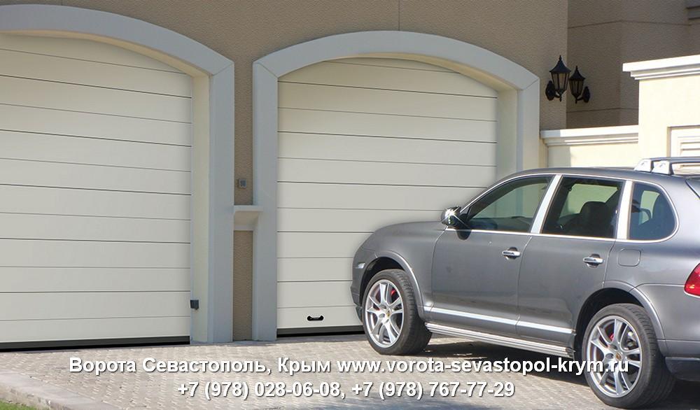 Ворота в гараж Севастополь