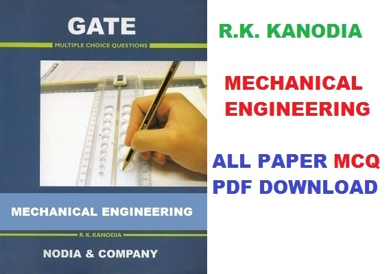 Subject wise R K Kanodia GATE Mechanical Books Download