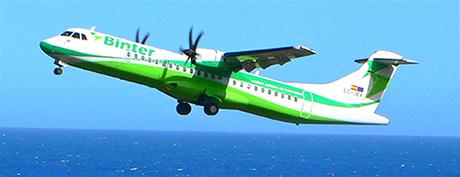Binter y su presencia histórica en la aviación canaria