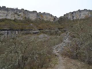 Zona Alta. Senda del desfiladero del Rudró