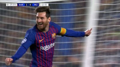 UCL-08 Barcelona 3 vs 0 Manchester United 16-04-2019