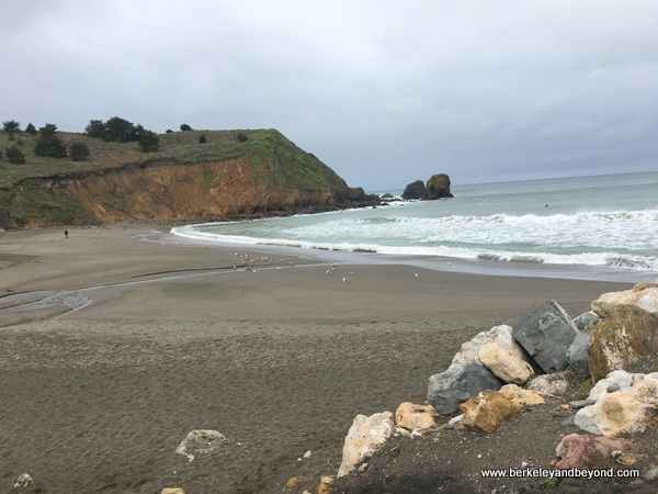 Rockaway Beach in Pacifica, California